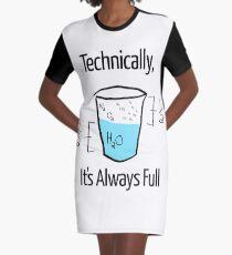 Die Wissenschaft ist optimistisch T-Shirt Kleid