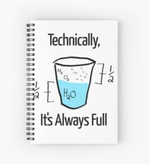 Science is Optimistic Spiral Notebook