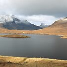 Knockan Crag View by Maria Gaellman