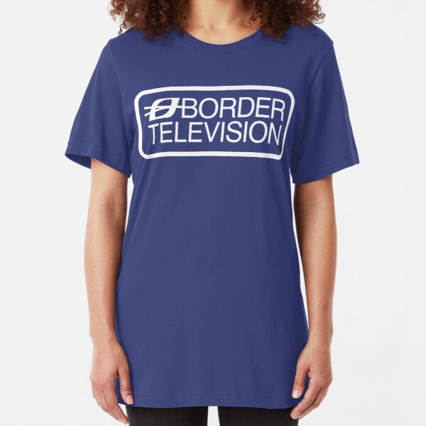 NDVH Border Television Slim Fit T-Shirt