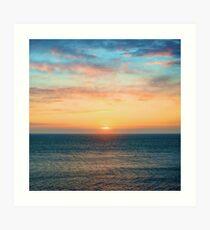 Light of Day - Ocean Sunset Sunrise Art Print