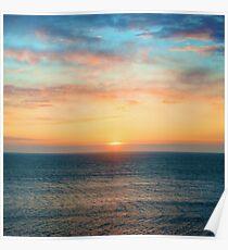 Light of Day - Ocean Sunset Sunrise Poster