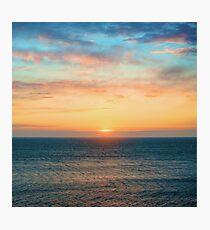 Light of Day - Ocean Sunset Sunrise Photographic Print