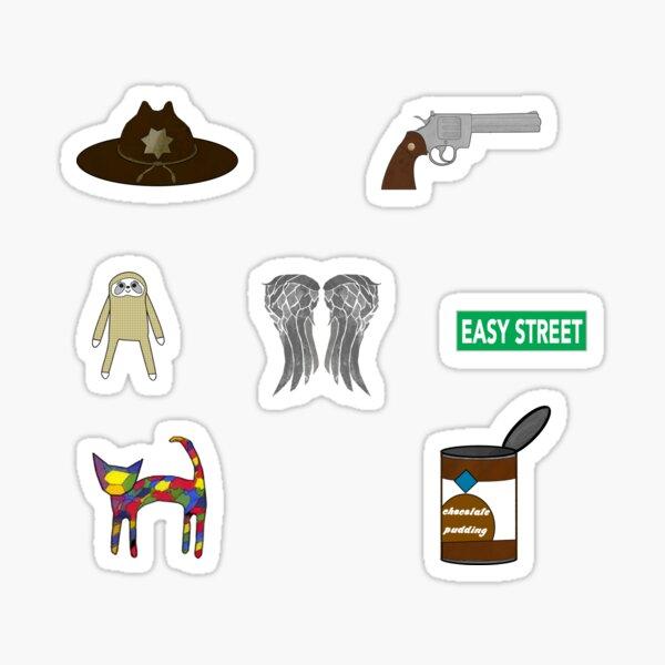 Sticker set twd Sticker