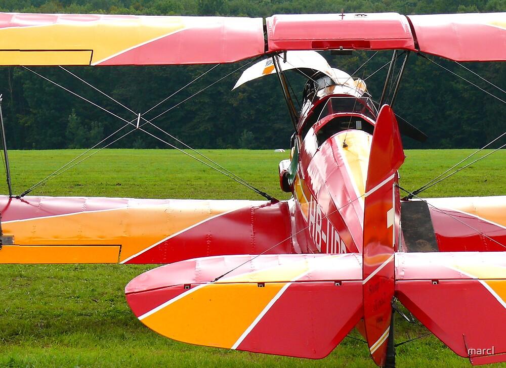 Biplane by Marc-Pierre Lubas