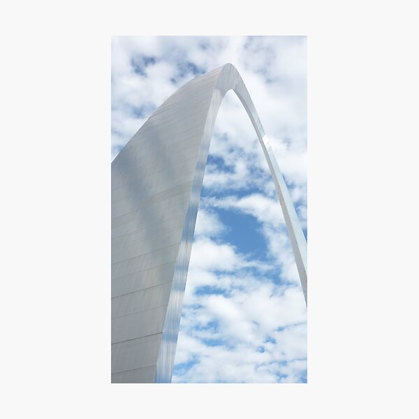 Reflections of the St. Louis Arch Photographic Print