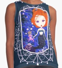 A Mermaid Kind of Day Contrast Tank