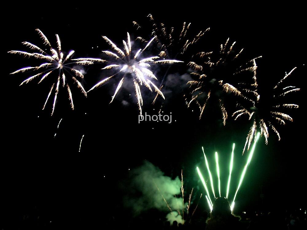 photoj Tas, 'New Years Firework' by photoj