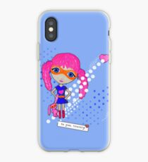 Bravely, She Took On The World iPhone Case