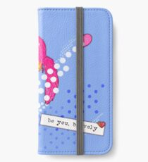 Bravely, She Took On The World iPhone Wallet/Case/Skin