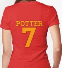 POTTER 7 Women's Fitted V-Neck T-Shirt