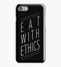 Eat With Ethics iPhone Case/Skin