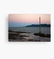 Resting ~ Flying Fish Point Sunset Canvas Print