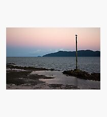 Resting ~ Flying Fish Point Sunset Photographic Print