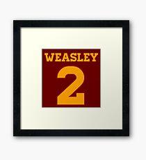 WEASLEY 2 Framed Print