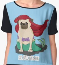 The Little Mer-Pug Chiffon Top