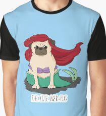 The Little Mer-Pug Graphic T-Shirt