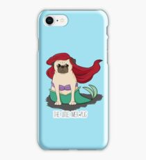 The Little Mer-Pug iPhone Case/Skin