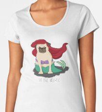 The Little Mer-Pug Women's Premium T-Shirt