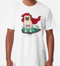 Camiseta larga El pequeño Mer-Pug