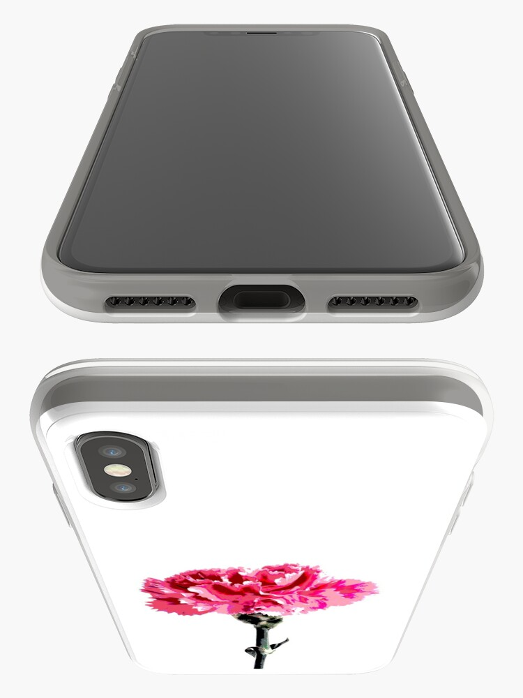 Alternate view of Psychedelic carnation iPhone Case & Cover