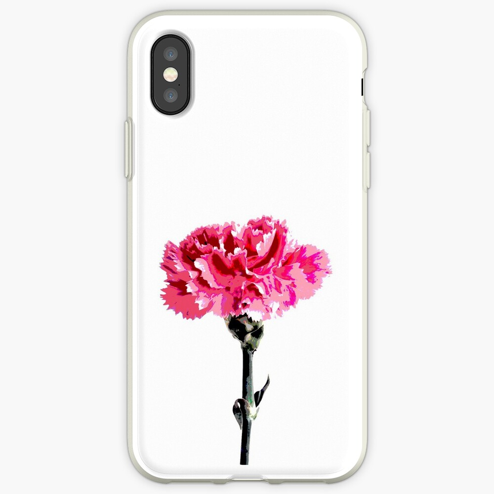 Psychedelic carnation iPhone Case & Cover