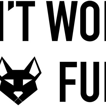 Don't Worry, Be Furry - Black by GeometricFR