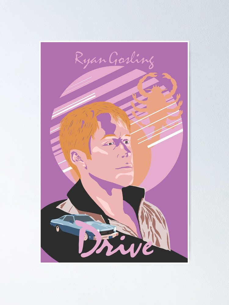 Alternate view of Drive Movie Poster Poster
