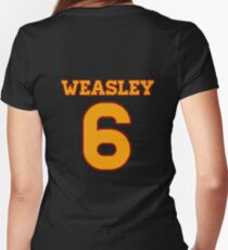WEASLEY 6 Women's Fitted V-Neck T-Shirt