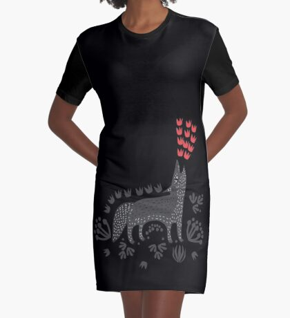 Wolf...  Graphic T-Shirt Dress
