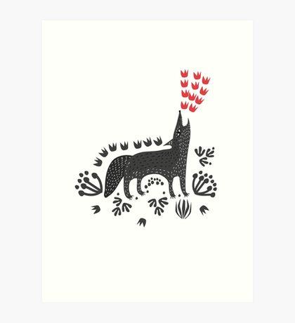 Wolf...  Art Print