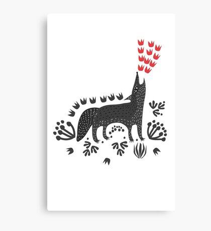 Wolf...  Canvas Print