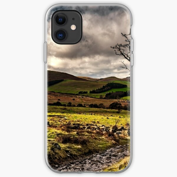 Lone Tree, College Valley - Northumberland iPhone Soft Case