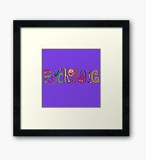 Psychedelic! Framed Print