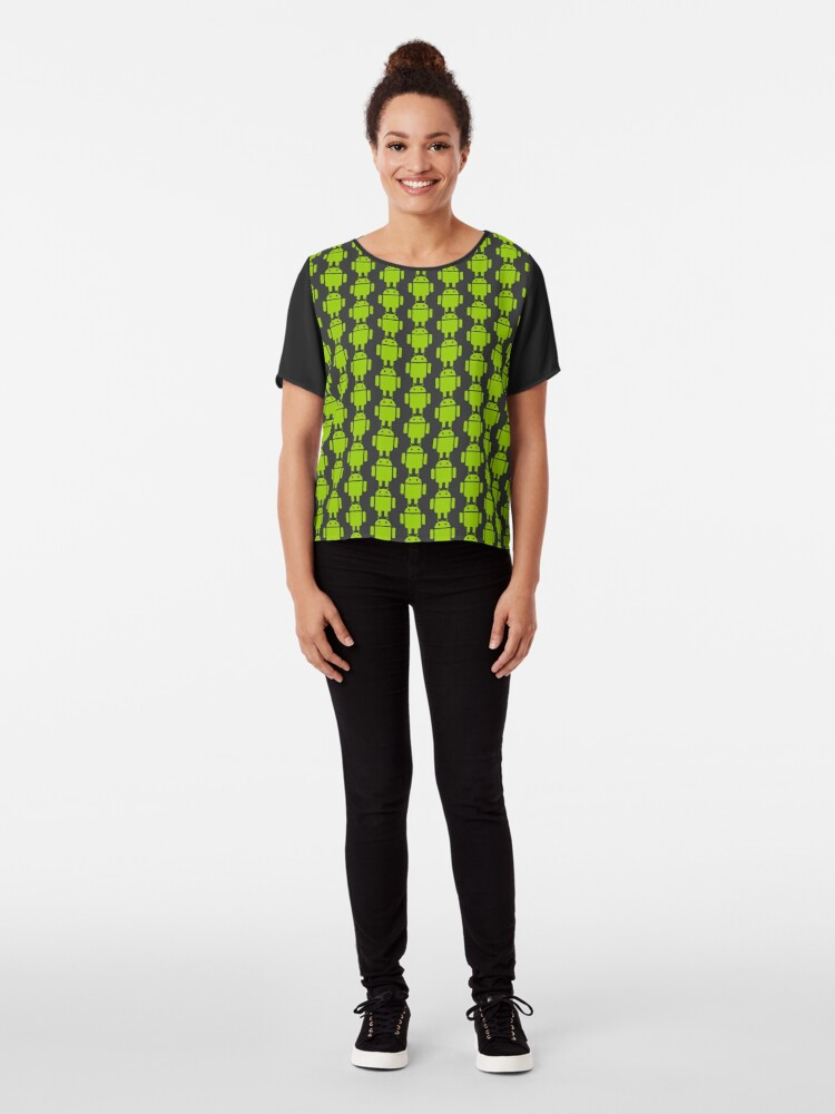 Alternate view of Android Droid Chiffon Top