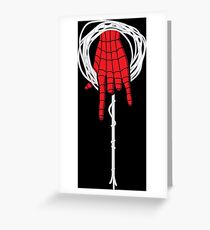 Hand Of The Spider Greeting Card