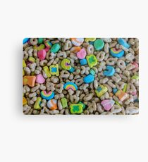 These are some really lucky marshmallows Metal Print