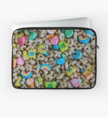 These are some really lucky marshmallows Laptop Sleeve