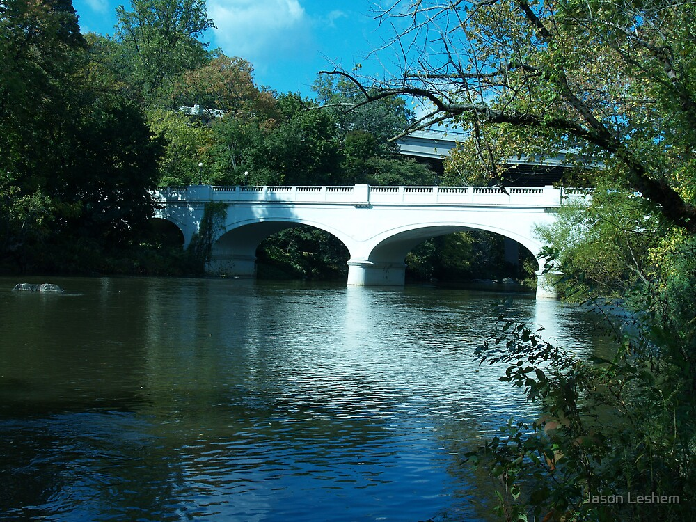 Brandywine Park Bridge by Jason Leshem