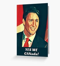 Yes We Canada!  Greeting Card