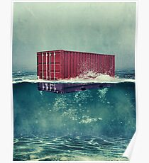Container on the High Sea Poster