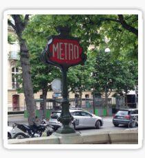 Metro Sticker