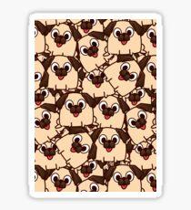 Puggy Sticker
