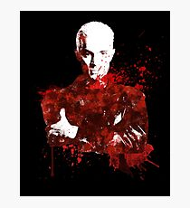 Splatter Spike Photographic Print