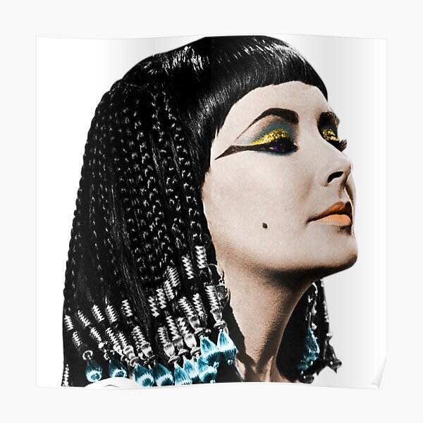 Cleopatra Recolor Poster