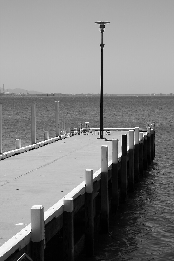 Pier by JadeAnne