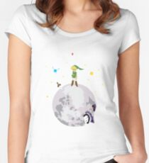 Le Petit Hero Women's Fitted Scoop T-Shirt