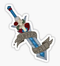 Suffer Well, Knights Sticker