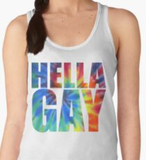 Hella Gay - rainbow Women's Tank Top