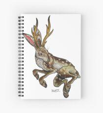 Cuaderno de espiral Jackalope